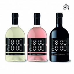 TRIO IGT VENETO 18:00 - 20:00 vino rosso / vino bianco / vino rosato 0,75l Cantina Terre di San Rocco Veneto